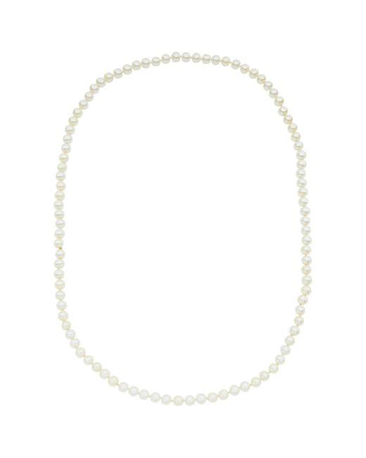 John Lewis | White Long Faux Pearl Necklace | Lyst