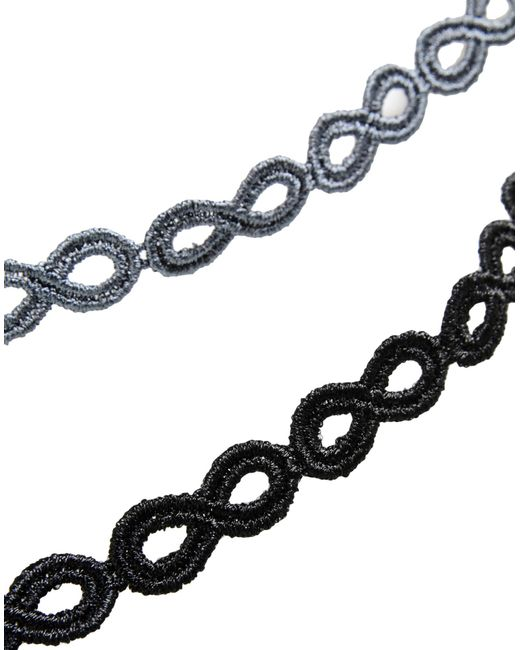 Cruciani Bracelet in Black
