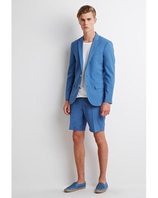 Forever 21 | Blue Trouser Shorts for Men | Lyst