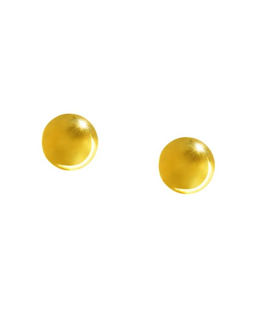 Brooks Brothers | Metallic Gold Clip On Stud Earrings | Lyst