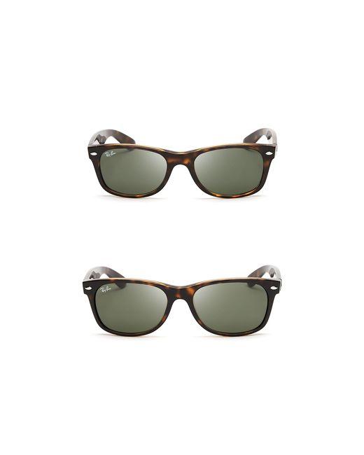 Ray-Ban   Brown New Wayfarer Polarized Sunglasses, 55mm   Lyst