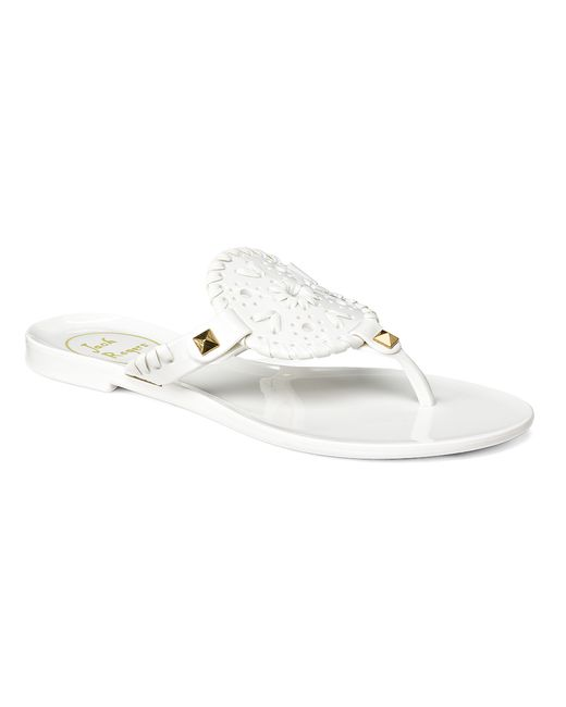 Jack Rogers | White Miss Georgica Jelly Sandal | Lyst