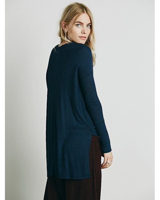 Free People | Blue We The Free Ventura Thermal | Lyst