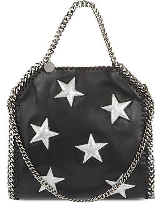 077122cb61 Stella Mccartney White Star Bag. Stella mccartney Mini Bella Star Shoulder  Bag in Black