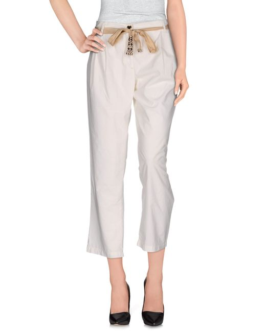 Twin Set | White Casual Trouser | Lyst