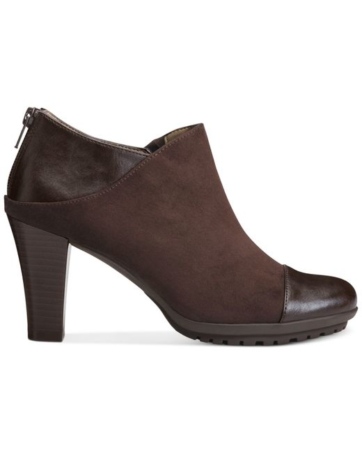 Aerosoles | Brown Commentary Booties | Lyst