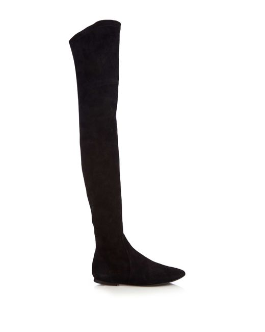 Étoile Isabel Marant | Black Brenna Suede Over-The-Knee Boots | Lyst