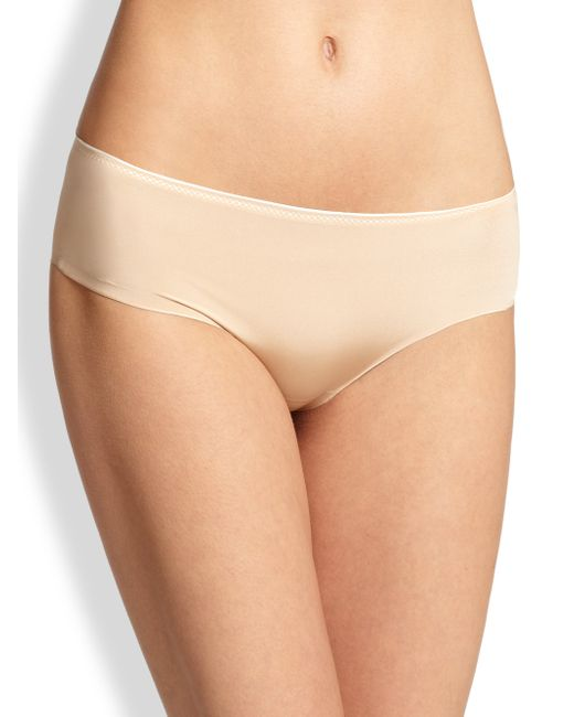 Chantelle | Beige Invisible Seamless Hipster Brief | Lyst