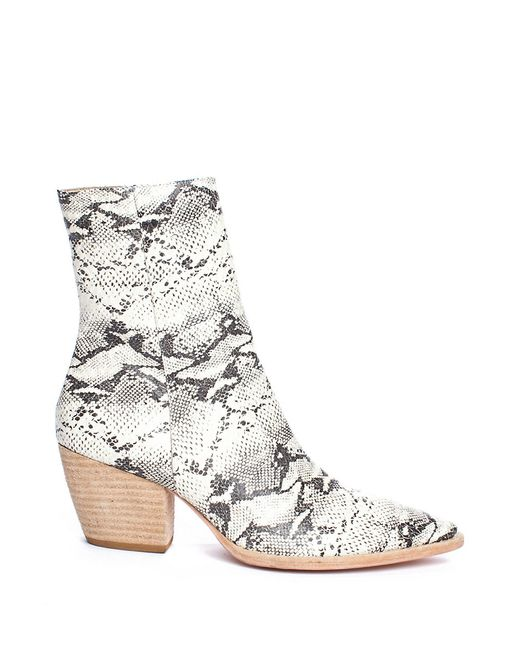 Sol Sana Shoes Snake Boots