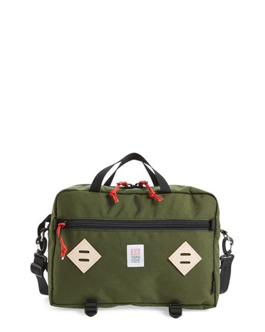 Topo Designs | Green 'mountain' Briefcase for Men | Lyst
