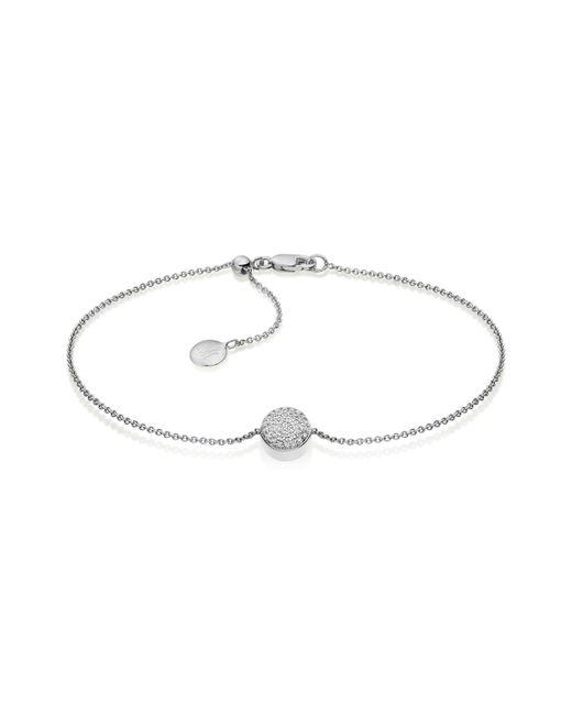 Monica Vinader | Metallic Ava Button Bracelet | Lyst