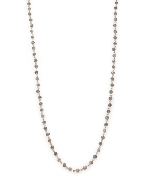 Chan Luu | Metallic Labradorite & Sterling Silver Beaded Chain Necklace | Lyst