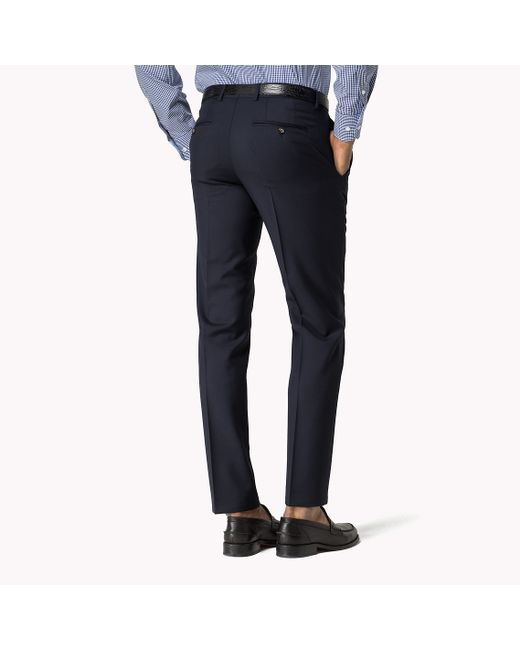Tommy Hilfiger | Blue Suit Separate Fitted Trousers for Men | Lyst
