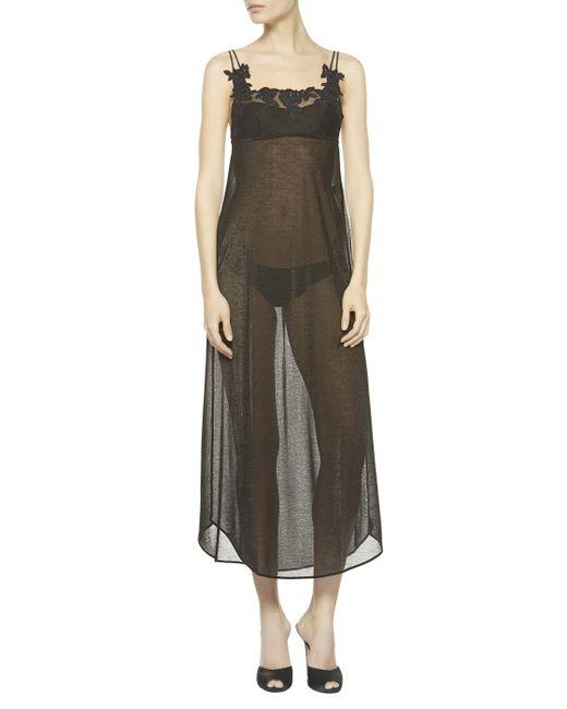 La Perla   Black Nightgown   Lyst