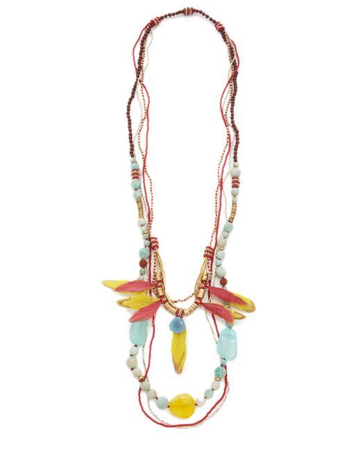 Deepa Gurnani | Multicolor Colleen Necklace | Lyst