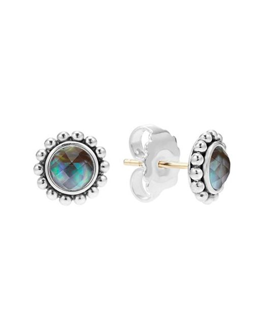 Lagos | Metallic Maya Doublet Stud Earrings | Lyst