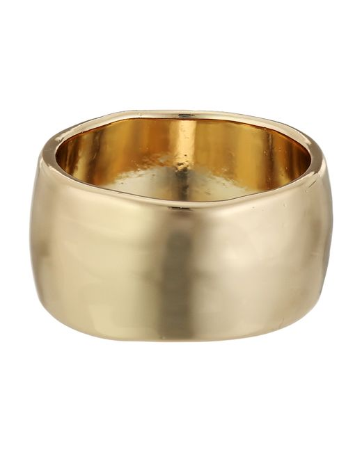 Guess | Metallic Wide Band Ring | Lyst