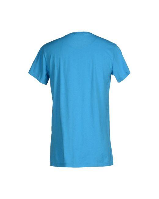 Balmain | Blue T-shirt for Men | Lyst