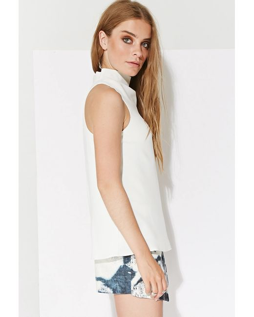 Forever 21 | Natural Ministry Of Style Where Are You Now Tank | Lyst