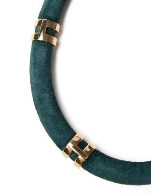 Lizzie Fortunato | Green 'double Take' Necklace | Lyst