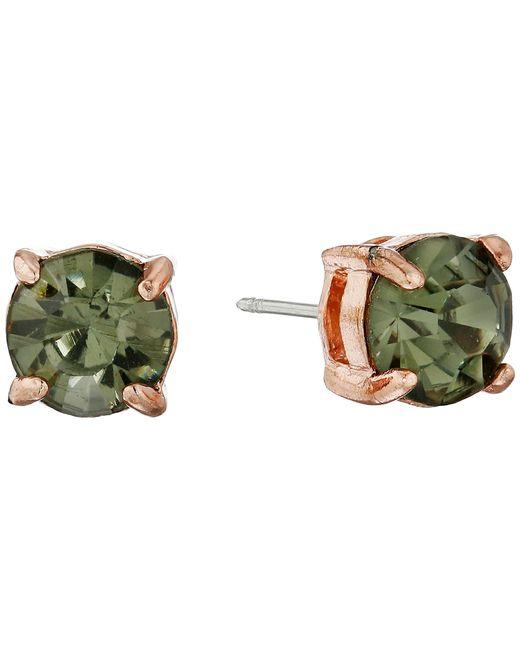 Sam Edelman   Metallic Reece Stone Stud Earrings   Lyst