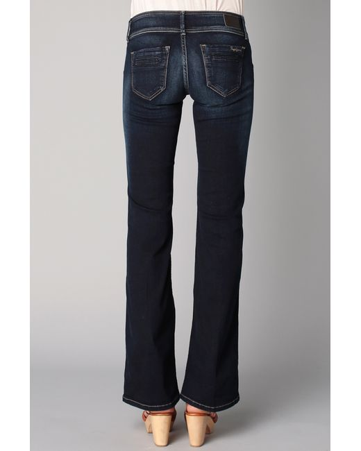 Pepe jeans Flared Jeans in Blue | Lyst