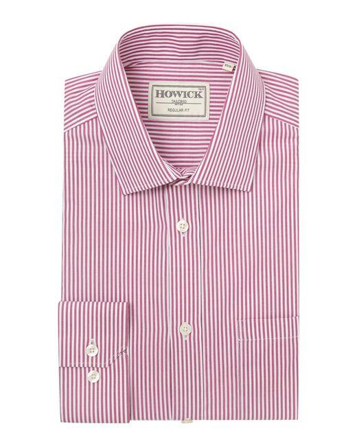 Howick | Pink Fairbanks Bengal Stripe Shirt for Men | Lyst