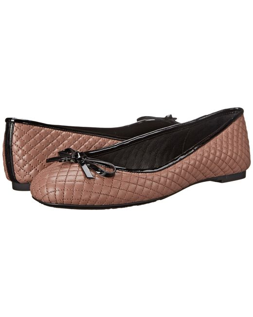 MICHAEL Michael Kors | Pink Melody Quilted Ballet | Lyst