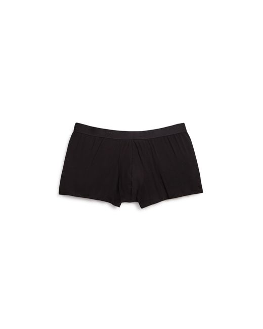 Derek Rose | Black Pima Cotton Hipster Trunks for Men | Lyst