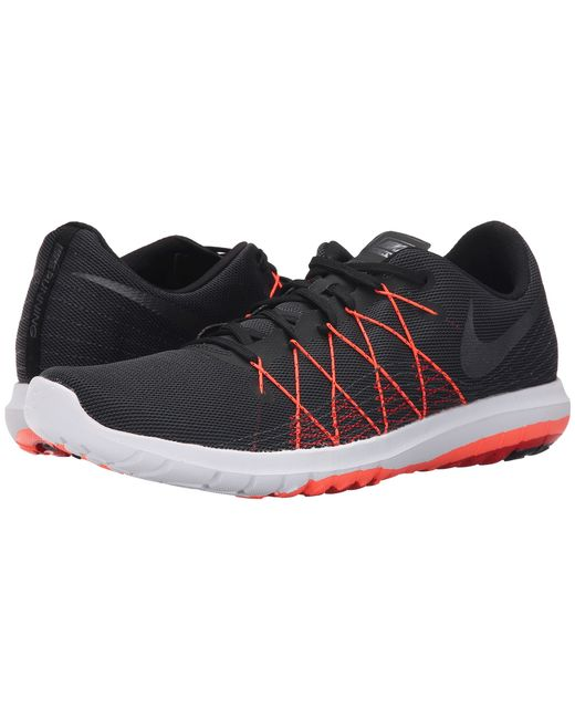 Nike Flex Fury 2 In Black For Men Black University Red