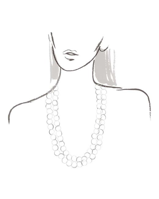 Melissa Joy Manning | Metallic 50 Inch Classic Hand Hammered Silver Necklace | Lyst