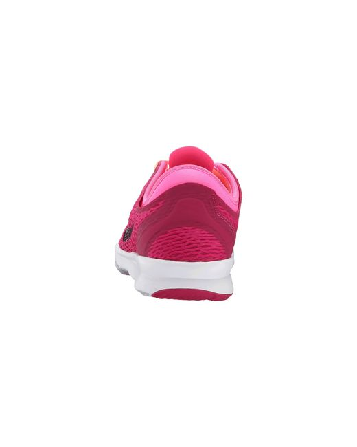 Nike   Pink Zoom Fit Low-Top Training Sneakers   Lyst