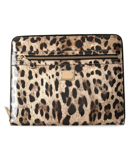 Dolce & Gabbana | Animal Leopard Print Tablet Case | Lyst