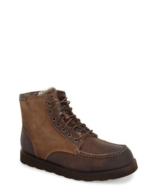 Eastland | Natural 'lumber Up' Moc Toe Boot for Men | Lyst