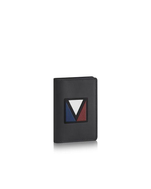 Louis Vuitton | Black Pocket Organizer for Men | Lyst