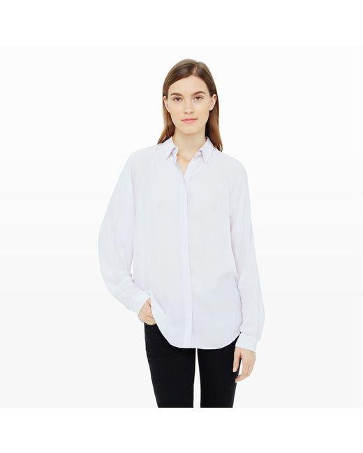 Club Monaco   White Laray Shirt   Lyst