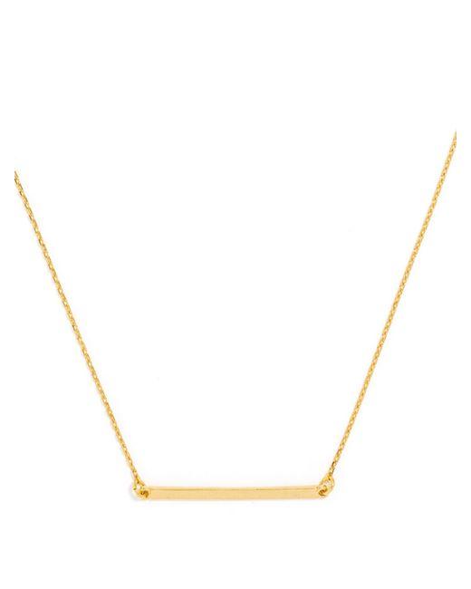 BaubleBar | Metallic Slim Bar Pendant | Lyst