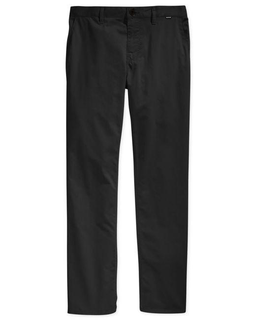 Hurley | Black Men's Solid Dri-fit Pants for Men | Lyst