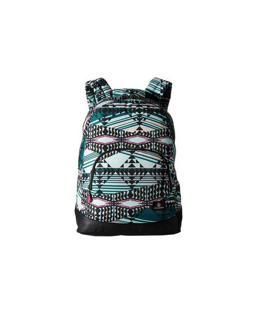 Volcom   Blue 'schoolyard' Canvas Backpack   Lyst