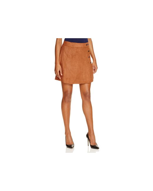 1 state side button a line skirt compare at 99 in brown