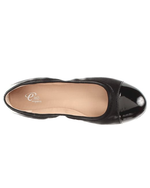 Easy Spirit   Black Kable Flat - Wide Width Available   Lyst