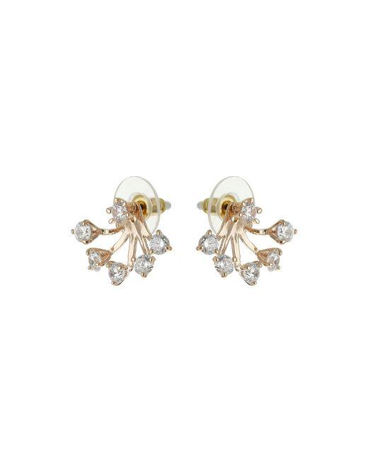 Mikey | Metallic Spread Design Twin Stud Earring | Lyst