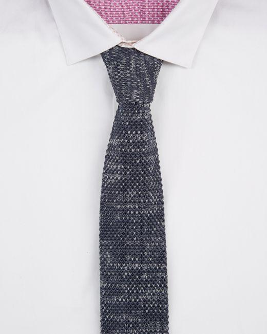 Ted Baker | Gray Tie Textured 5.5cm for Men | Lyst