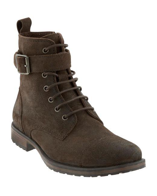 banana republic landon boot in brown for brown