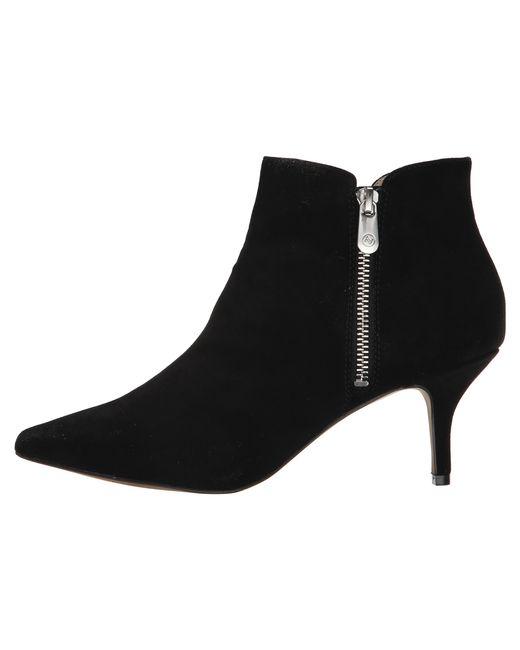 Adrienne Vittadini | Black Senji Suede Ankle Booties | Lyst