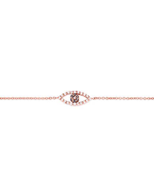 Carbon & Hyde | Pink Evil Eye Bracelet | Lyst