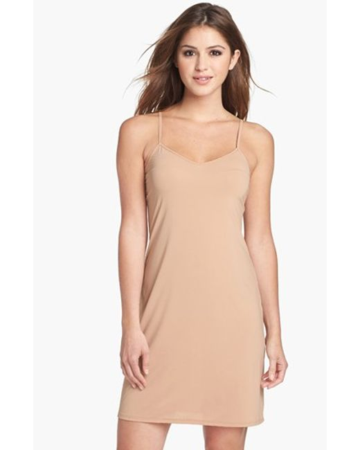 Calvin Klein | Natural Full Slip | Lyst