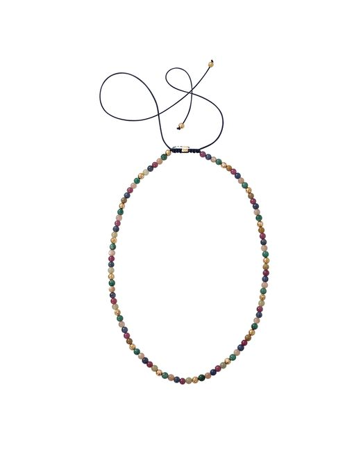 Shamballa Jewels | Multicolor Mixed Bead Necklace | Lyst