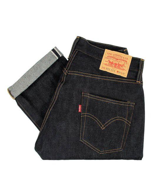 Levi's | Blue Levis Vintage 551 Zxx Selvedge Denim for Men | Lyst