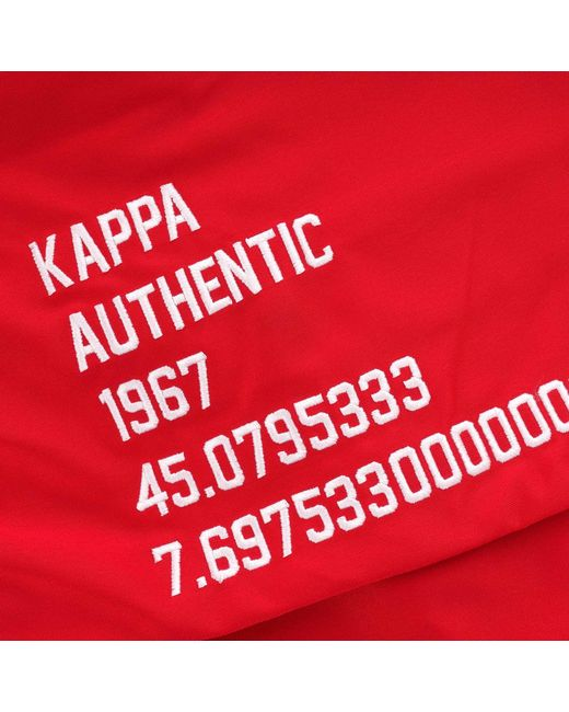5eb870b52f Kappa Bafer Authentic Jacket in Red for Men - Save 17% - Lyst
